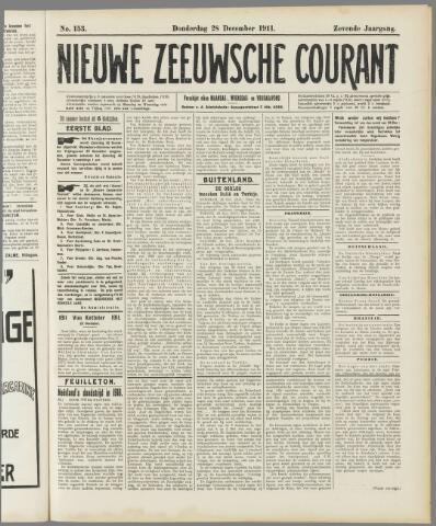 Nieuwe Zeeuwsche Courant 1911-12-28