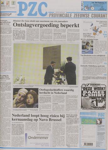Provinciale Zeeuwse Courant 2004-05-05