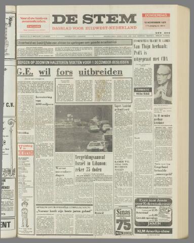 de Stem 1977-11-10