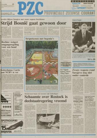 Provinciale Zeeuwse Courant 1992-08-29