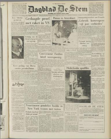 de Stem 1957-09-21