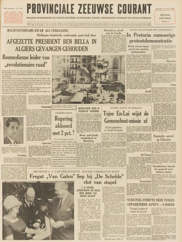 Provinciale Zeeuwse Courant 1965-06-21