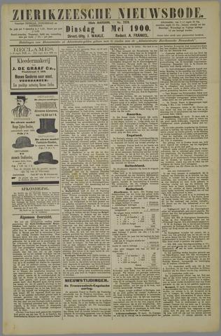 Zierikzeesche Nieuwsbode 1900-05-01