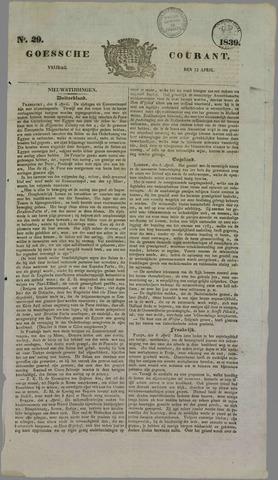 Goessche Courant 1839-04-12