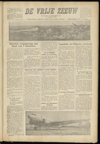 de Vrije Zeeuw 1946-11-18
