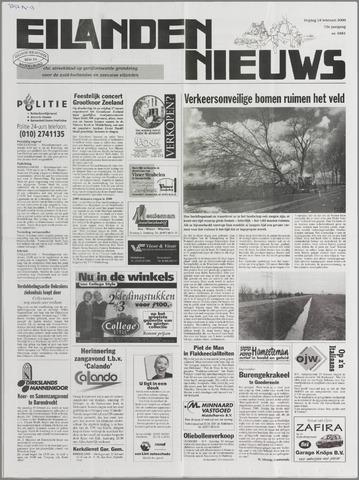 Eilanden-nieuws. Christelijk streekblad op gereformeerde grondslag 2000-02-18