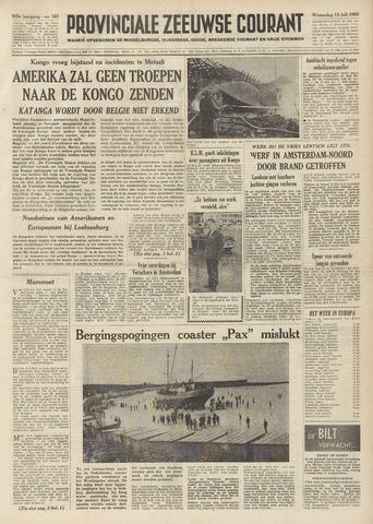 Provinciale Zeeuwse Courant 1960-07-13