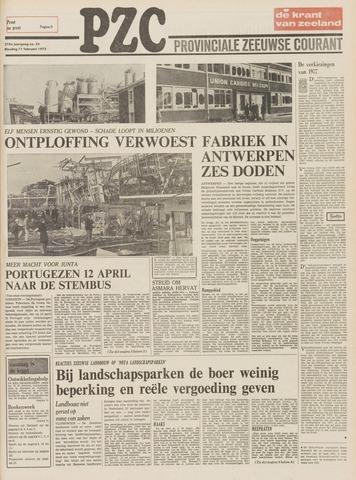 Provinciale Zeeuwse Courant 1975-02-11