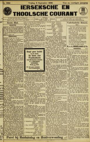 Ierseksche en Thoolsche Courant 1926-09-03