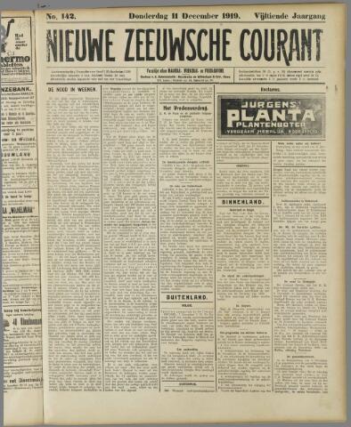 Nieuwe Zeeuwsche Courant 1919-12-11