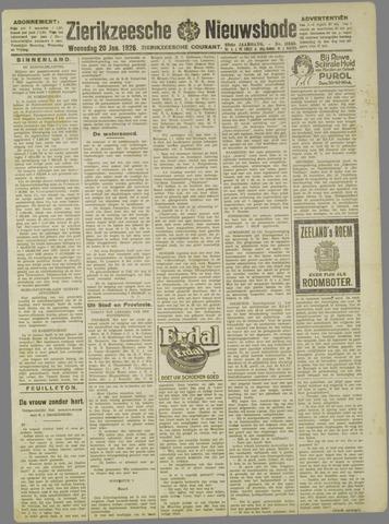 Zierikzeesche Nieuwsbode 1926-01-20