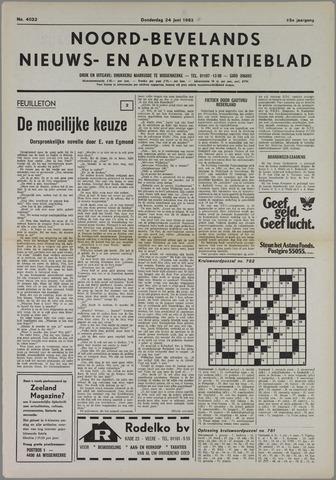 Noord-Bevelands Nieuws- en advertentieblad 1982-06-24
