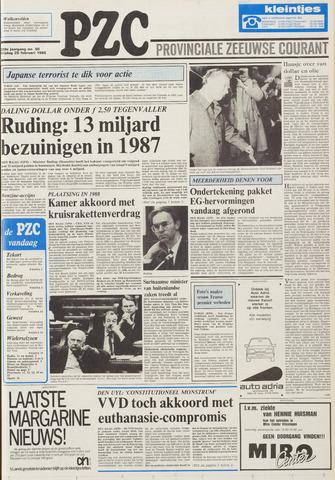 Provinciale Zeeuwse Courant 1986-02-28