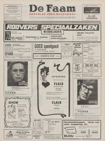 de Faam en de Faam/de Vlissinger 1971-09-23