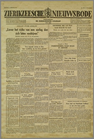 Zierikzeesche Nieuwsbode 1959-02-09