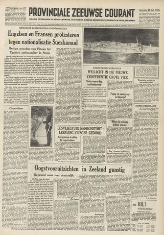 Provinciale Zeeuwse Courant 1956-07-28