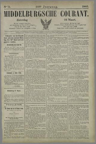 Middelburgsche Courant 1883-03-24
