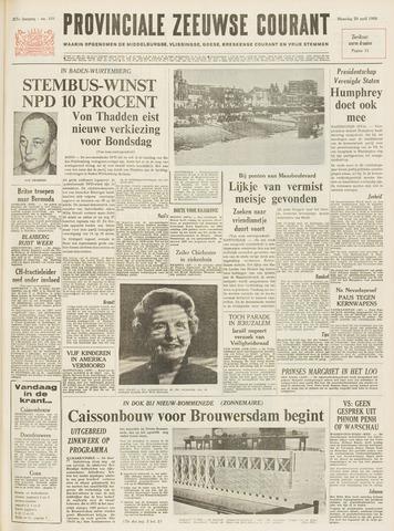 Provinciale Zeeuwse Courant 1968-04-29