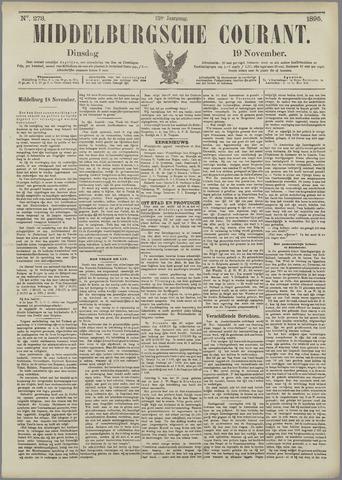 Middelburgsche Courant 1895-11-19