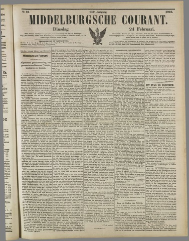 Middelburgsche Courant 1903-02-24