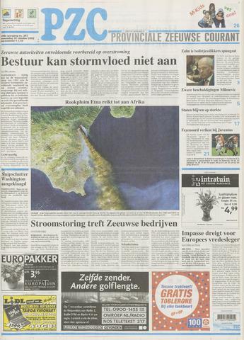 Provinciale Zeeuwse Courant 2002-10-30