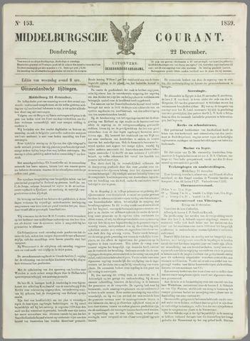 Middelburgsche Courant 1859-12-22