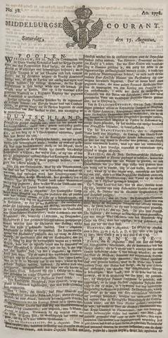 Middelburgsche Courant 1778-08-15