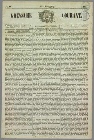 Goessche Courant 1855-11-08