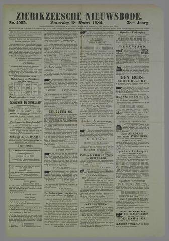 Zierikzeesche Nieuwsbode 1882-03-18