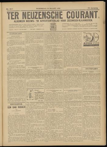 Ter Neuzensche Courant. Algemeen Nieuws- en Advertentieblad voor Zeeuwsch-Vlaanderen / Neuzensche Courant ... (idem) / (Algemeen) nieuws en advertentieblad voor Zeeuwsch-Vlaanderen 1932-03-30
