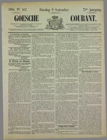 Goessche Courant 1884-09-09