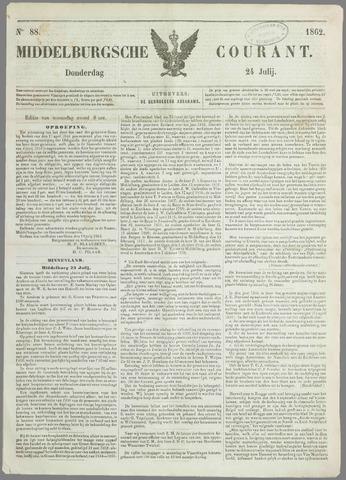Middelburgsche Courant 1862-07-24