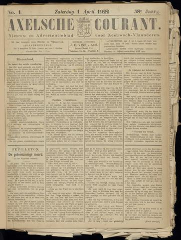 Axelsche Courant 1922-04-01