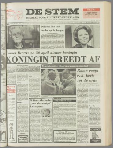 de Stem 1980-02-01