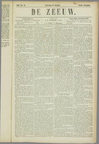 De Zeeuw. Christelijk-historisch nieuwsblad voor Zeeland 1891-10-31