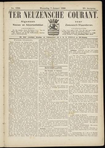 Ter Neuzensche Courant. Algemeen Nieuws- en Advertentieblad voor Zeeuwsch-Vlaanderen / Neuzensche Courant ... (idem) / (Algemeen) nieuws en advertentieblad voor Zeeuwsch-Vlaanderen 1880-01-07