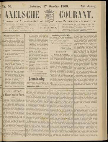 Axelsche Courant 1908-10-17