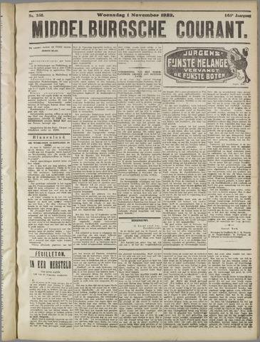 Middelburgsche Courant 1922-11-01