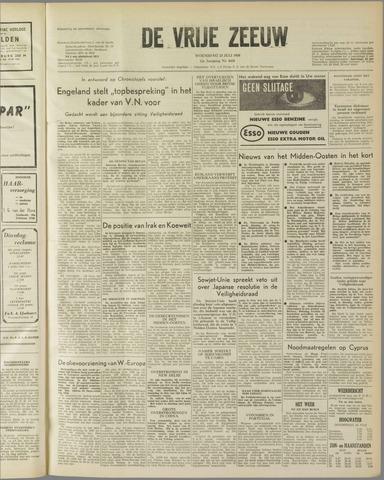 de Vrije Zeeuw 1958-07-23