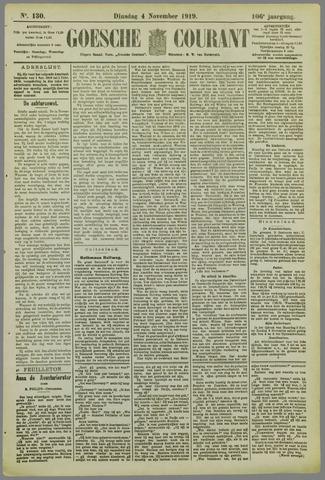 Goessche Courant 1919-11-04
