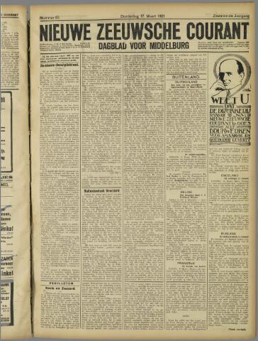 Nieuwe Zeeuwsche Courant 1921-03-17