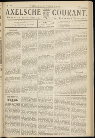 Axelsche Courant 1930-11-14
