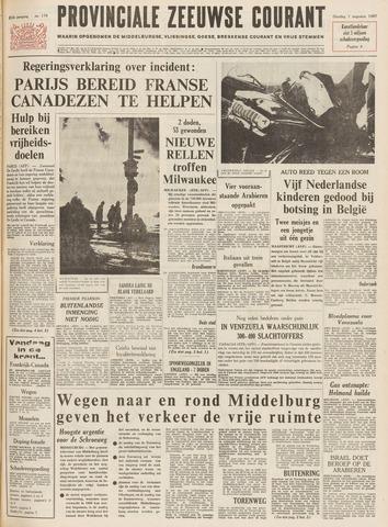 Provinciale Zeeuwse Courant 1967-08-01