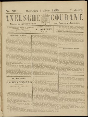 Axelsche Courant 1890-03-05
