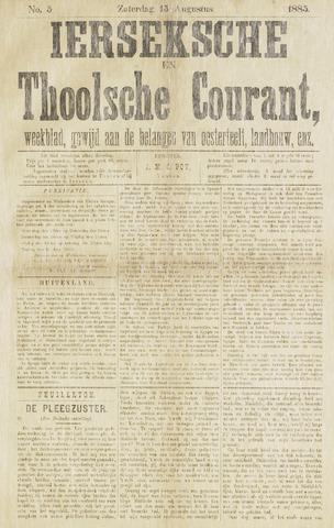 Ierseksche en Thoolsche Courant 1885-08-15