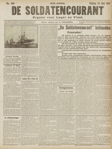 De Soldatencourant. Orgaan voor Leger en Vloot 1917-05-25