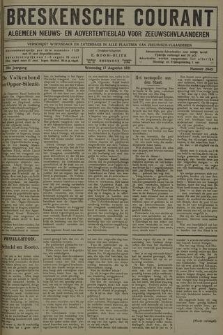 Breskensche Courant 1921-08-17