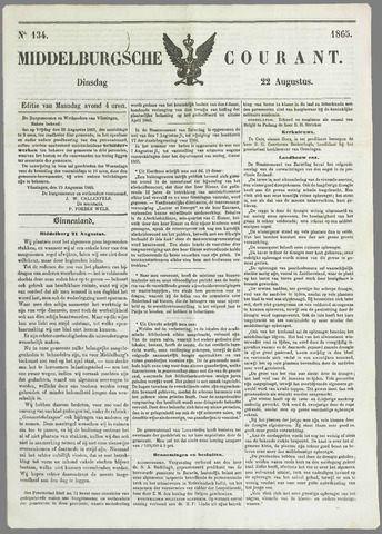 Middelburgsche Courant 1865-08-22