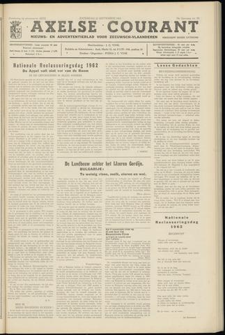 Axelsche Courant 1962-09-22