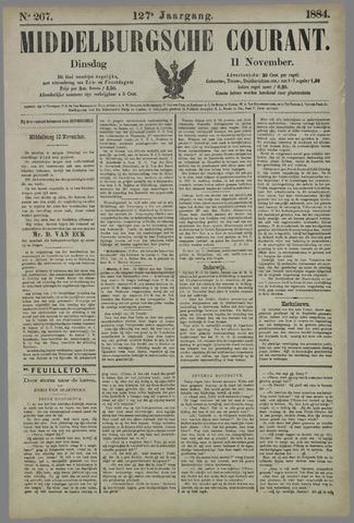Middelburgsche Courant 1884-11-11